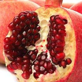 Pomegranate is listed (or ranked) 19 on the list The Healthiest Superfoods