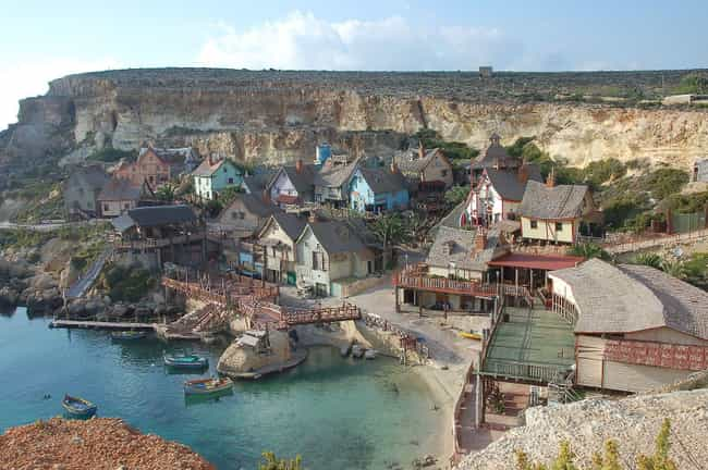 Popeye is listed (or ranked) 3 on the list 22 Insanely Cool Pictures Of Abandoned Movie Sets