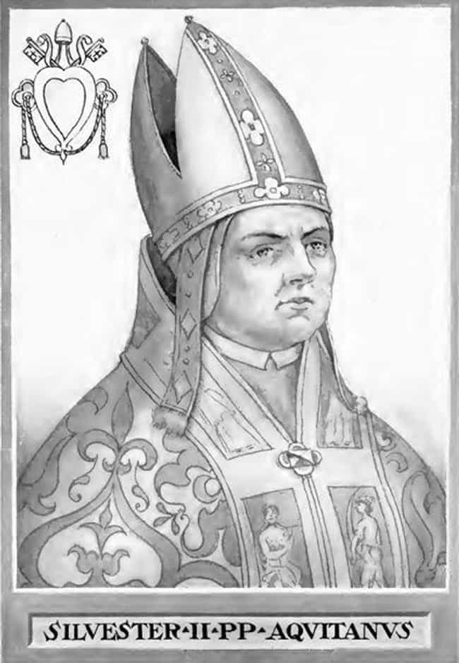 Pope Sylvester II is listed (or ranked) 8 on the list 13 Famous Historical Figures Who Allegedly Sold Their Souls To The Devil