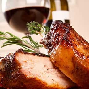 Pork is listed (or ranked) 5 on the list The Best Food Pairings For Zinfandel, Ranked