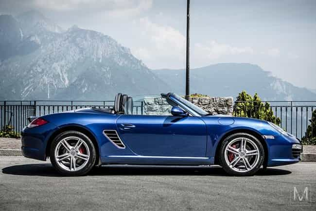 Porsche Boxster is listed (or ranked) 2 on the list Full List of Porsche Models