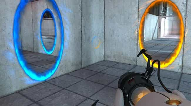 Portal is listed (or ranked) 4 on the list 14 Hidden Backstories You Never Knew About Your Favorite Games