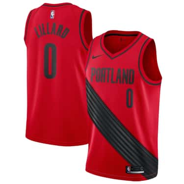 """Portland Trail Blazers is listed (or ranked) 1 on the list The Coolest NBA """"Statement Edition"""" Jerseys"""