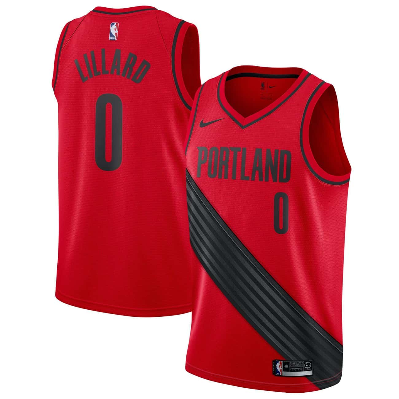"Portland Trail Blazers is listed (or ranked) 1 on the list The Coolest NBA ""Statement Edition"" Jerseys"