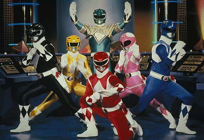 Power Rangers is listed (or ranked) 3 on the list If Anyone Says They've Completely Watched These TV Shows, They're Probably Lying To You