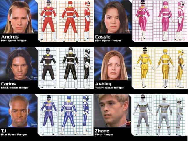 Power Rangers in Space ... is listed (or ranked) 3 on the list The Best Power Rangers Series Ever Made