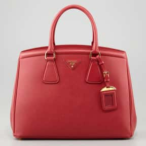 Prada is listed (or ranked) 4 on the list The Best Purse Designers