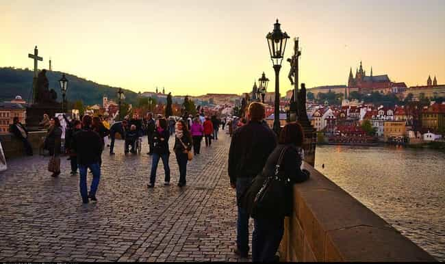 Prague is listed (or ranked) 4 on the list The Best World Cities for Artists