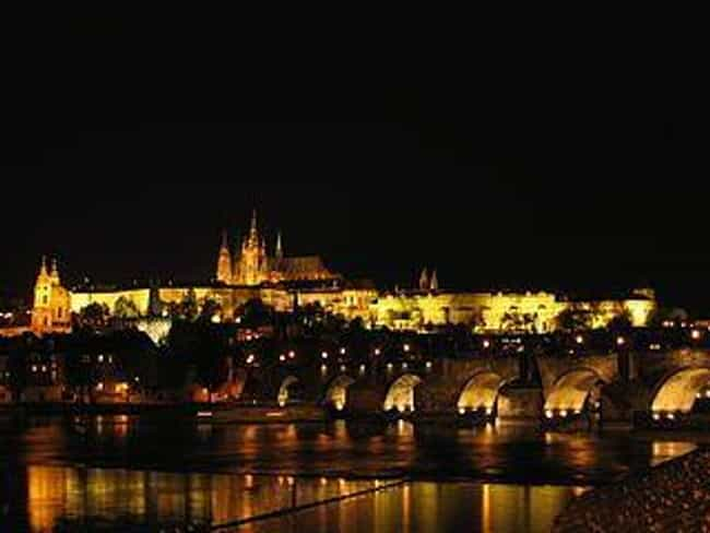 Prague is listed (or ranked) 1 on the list The Most Magical Cities in the World