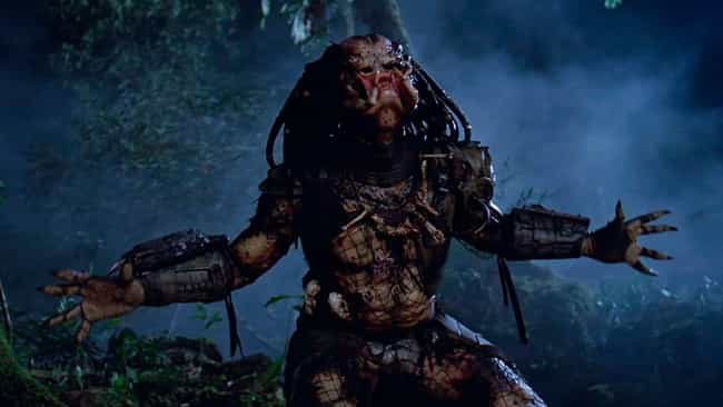 Predator is listed (or ranked) 1 on the list 12 Movie Fights That Lasted Way Longer Because The Characters Decided To Fight Fair