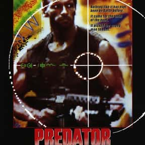 Predator is listed (or ranked) 4 on the list The Best Alien Horror Movies Ever Made