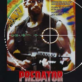 Predator is listed (or ranked) 7 on the list The Best Horror Movies Set in the Woods