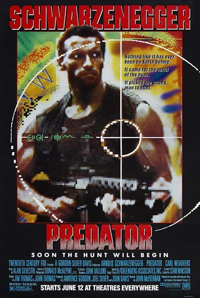 Predator is listed (or ranked) 1 on the list The Best Predator Movies