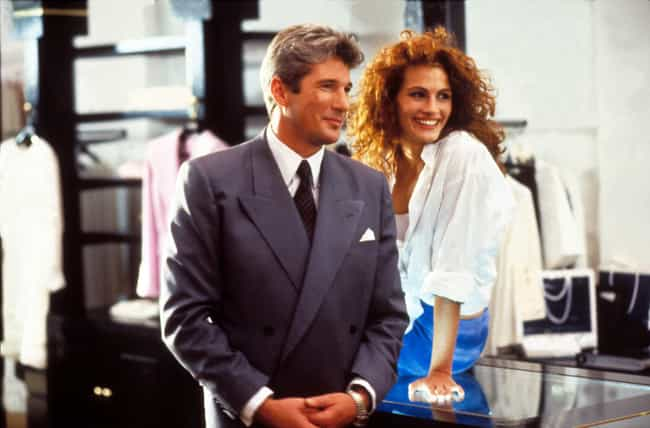 Pretty Woman is listed (or ranked) 8 on the list 12 Rom-Com Plots That Are Actually The Stuff Of Nightmares
