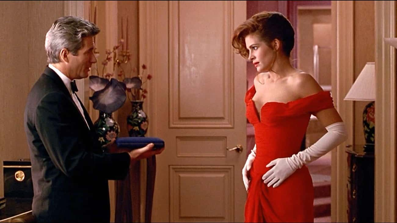 The Red Dress In 'Pretty Woman' Symbolizes How Vivian Transcends Her Background And Learns To Love Herself