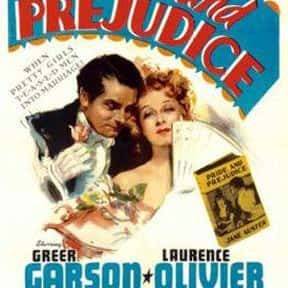 Pride and Prejudice is listed (or ranked) 5 on the list The Best Romantic Comedies of the 1940s
