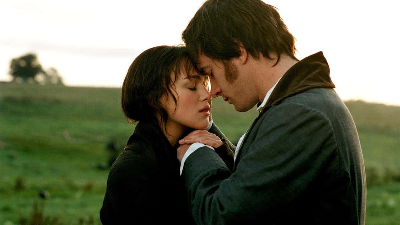 Pride & Prejudice is listed (or ranked) 4 on the list The Greatest Movie Wedding Proposals