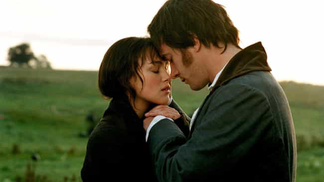 Pride & Prejudice is listed (or ranked) 3 on the list The Greatest Movie Wedding Proposals