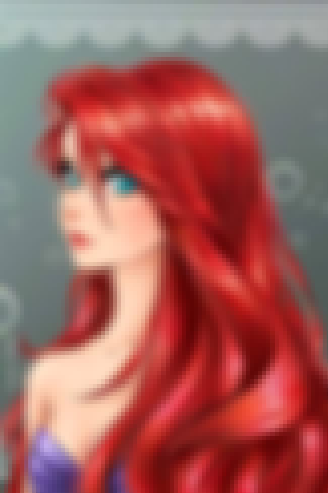 Ariel is listed (or ranked) 1 on the list 15 Disney Princesses Drawn As Anime Characters