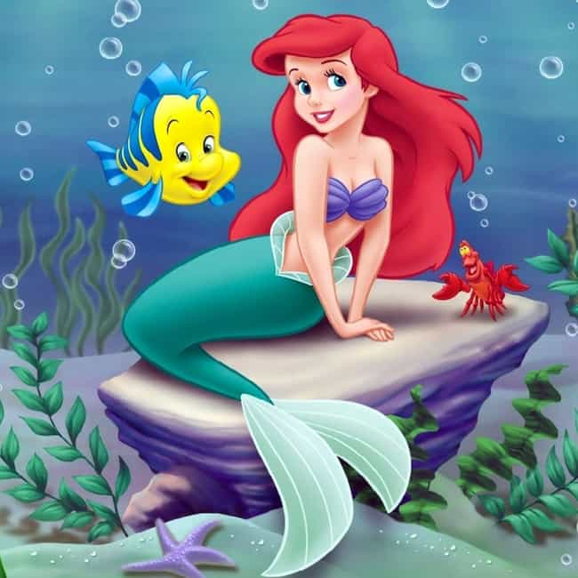 Ariel is listed (or ranked) 4 on the list All The Ways Your Childhood TV And Movie Heroes Actually Taught You Horrible Life Lessons