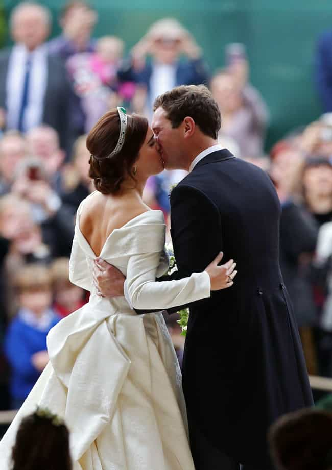 Princess Eugenie of York... is listed (or ranked) 4 on the list The Greatest Royal Wedding Dresses In History