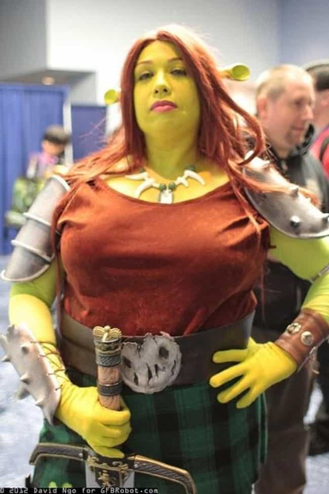 Princess Fiona is listed (or ranked) 1 on the list Plus Size Cosplay Costume Ideas