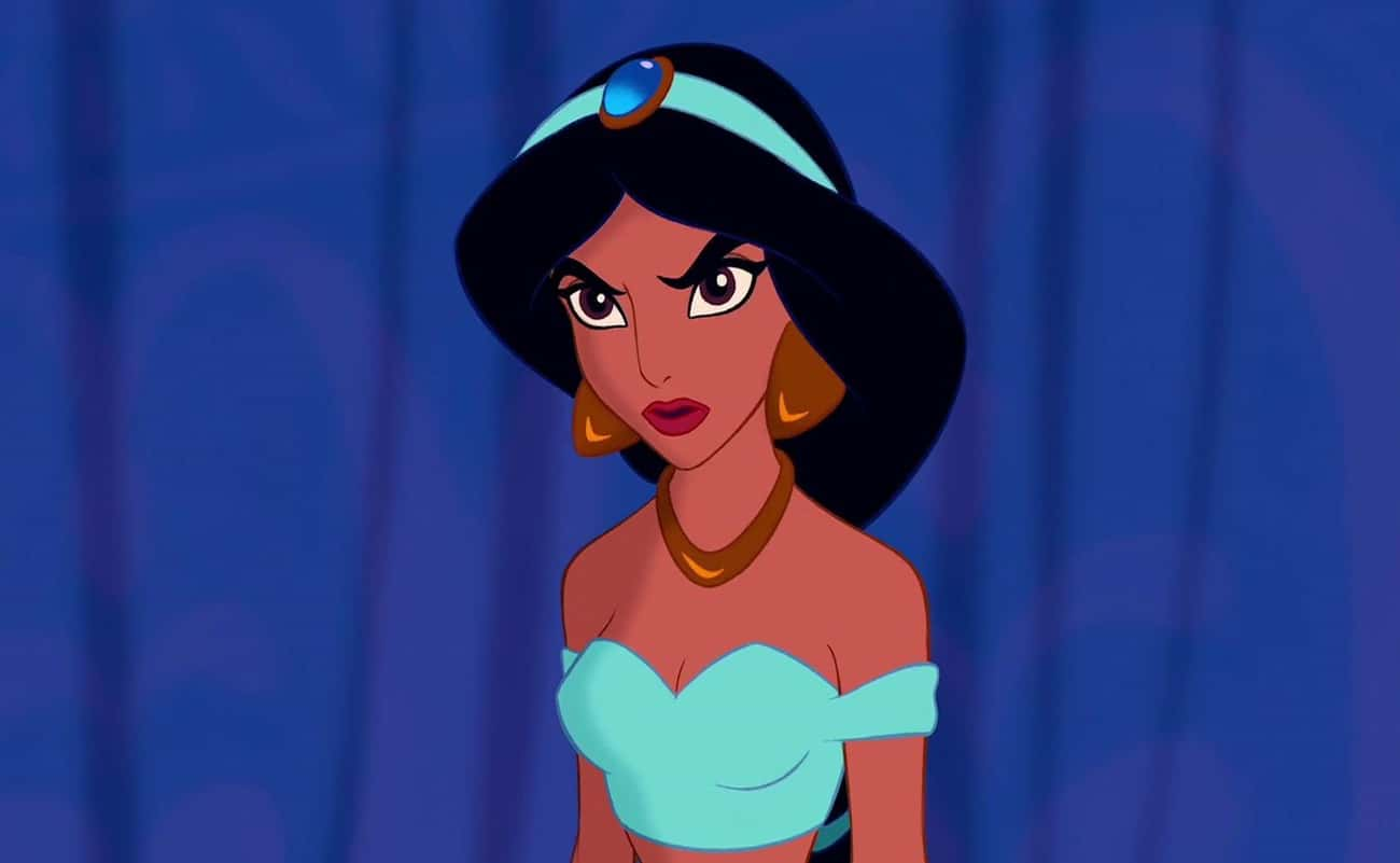 Aries - Jasmine is listed (or ranked) 1 on the list What Disney Princess Matches Your Zodiac Sign?