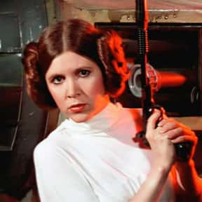 Leia Organa is listed (or ranked) 23 on the list Which Star Wars Characters Deserve Spinoff Movies?