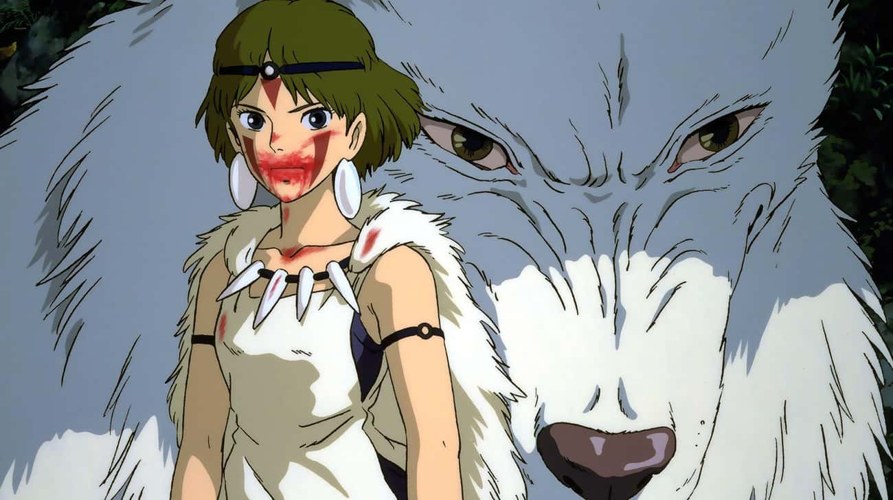 Princess Mononoke is listed (or ranked) 1 on the list 15 Anime With Strong Female Characters