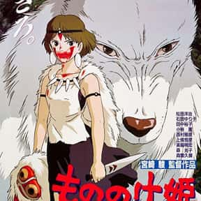 Princess Mononoke is listed (or ranked) 2 on the list The Best Anime Movies of All Time