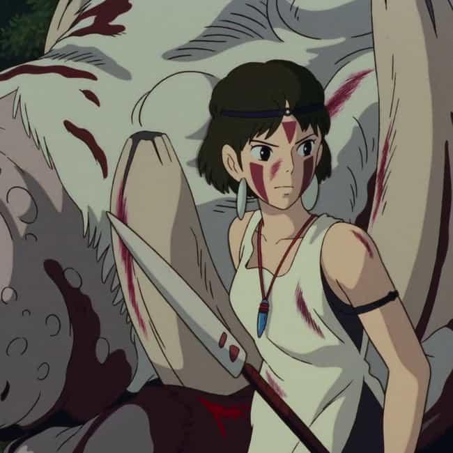 Princess Mononoke is listed (or ranked) 1 on the list The Best Anime Like Mushishi
