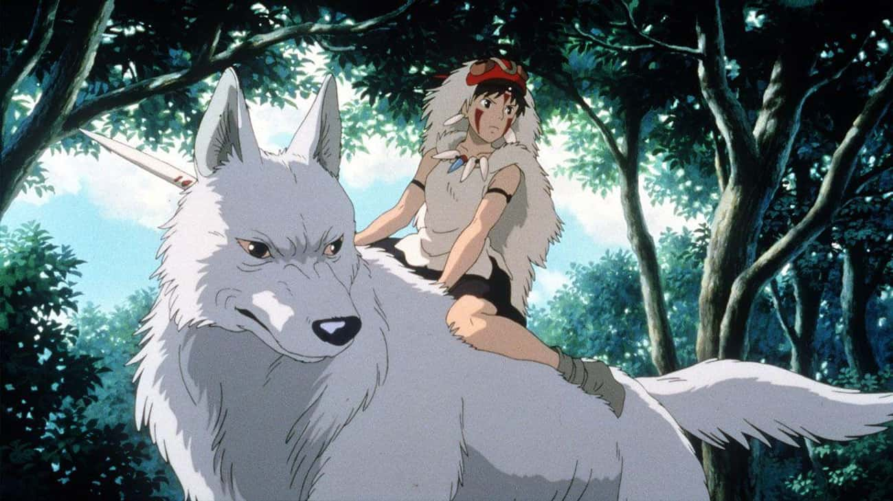 Princess Mononoke is listed (or ranked) 3 on the list The Best Anime Like 'Howl's Moving Castle'
