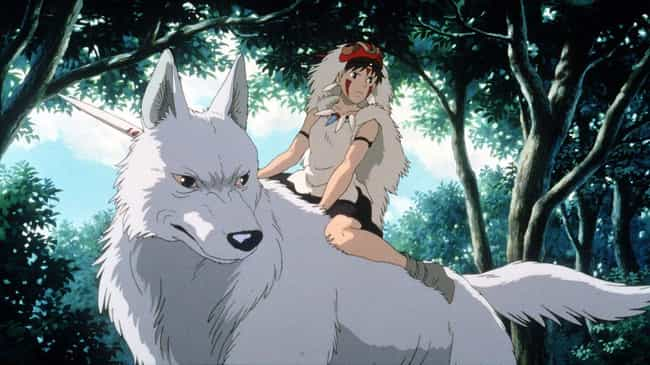 Princess Mononoke is listed (or ranked) 5 on the list The Best Anime Like 'Howl's Moving Castle'