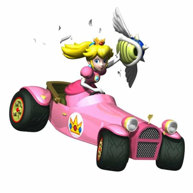 Princess Peach is listed (or ranked) 2 on the list What Your Favorite 'Mario Kart' Character Says About You