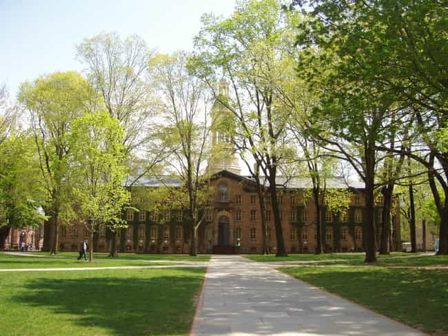 Princeton University is listed (or ranked) 4 on the list The Most Beautiful College Campuses