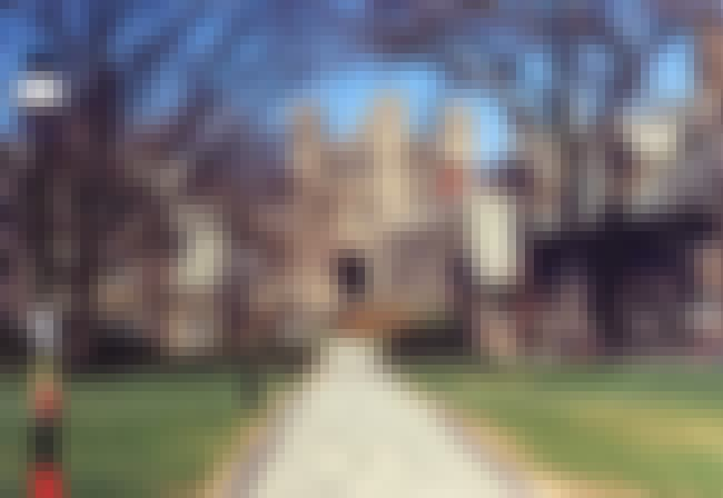Princeton University is listed (or ranked) 8 on the list Oldest Universities In The US