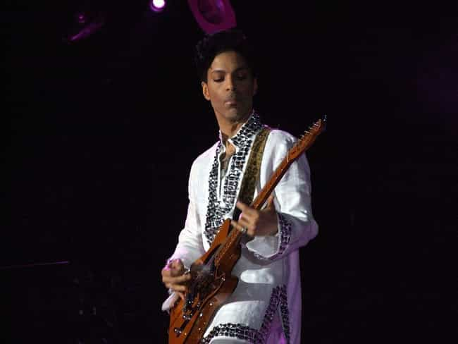 Prince is listed (or ranked) 4 on the list 30 Celebrities Who Died Without a Will
