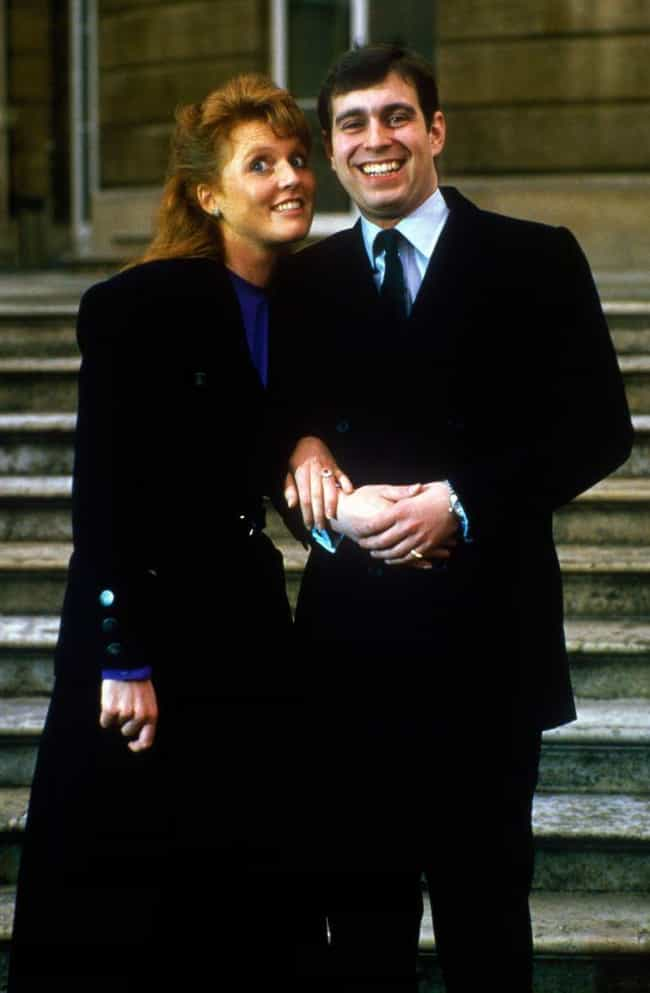 Prince Andrew, Duke of Y... is listed (or ranked) 8 on the list How Did All The British Royal Couples Meet?
