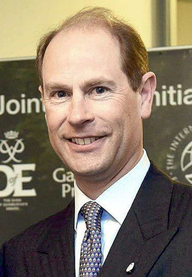 Prince Edward, Earl of Wessex is listed (or ranked) 7 on the list What Every Living British Royal Does Today