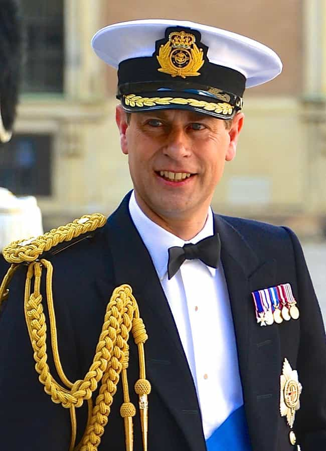 Prince Edward, Earl of W... is listed (or ranked) 3 on the list 10 British Royal Siblings Who Make Princess Margaret Look Like Mr. Rogers
