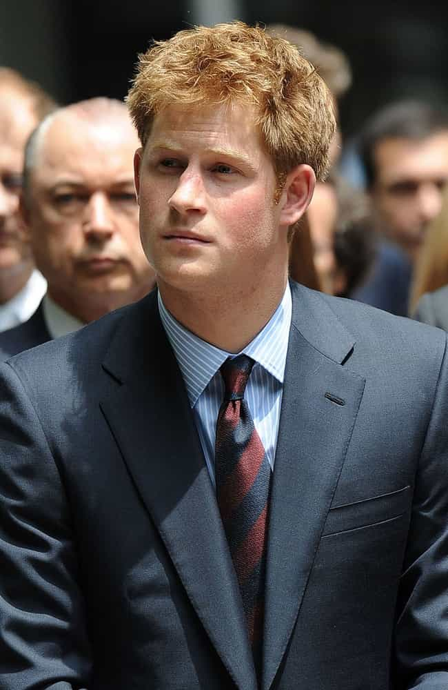 Prince Harry, Duke of Sussex is listed (or ranked) 3 on the list The Hottest Royal Men