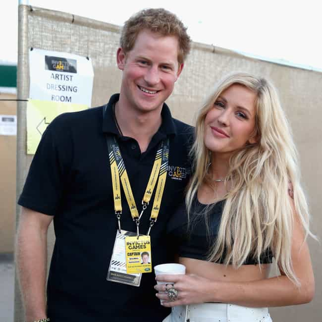 Prince Harry, Duke of Su... is listed (or ranked) 3 on the list Ellie Goulding Loves And Hookups