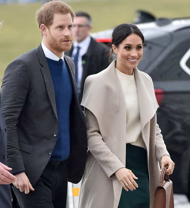 Prince Harry, Duke of Sussex is listed (or ranked) 3 on the list Famous Men Who Married Older Women