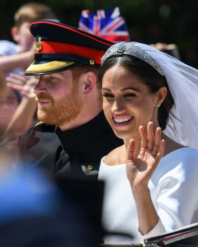 Prince Harry, Duke of Sussex is listed (or ranked) 1 on the list These Celebs Found Love On A Blind Date