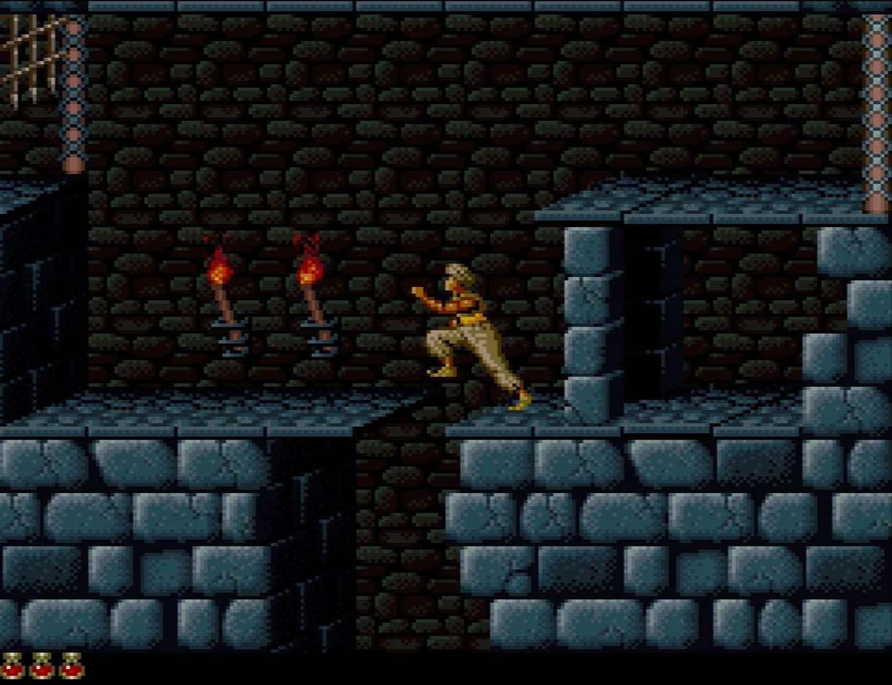 Prince Of Persia is listed (or ranked) 4 on the list 20 Super Nintendo Games That Are So Hard We're Still Trying To Beat Them