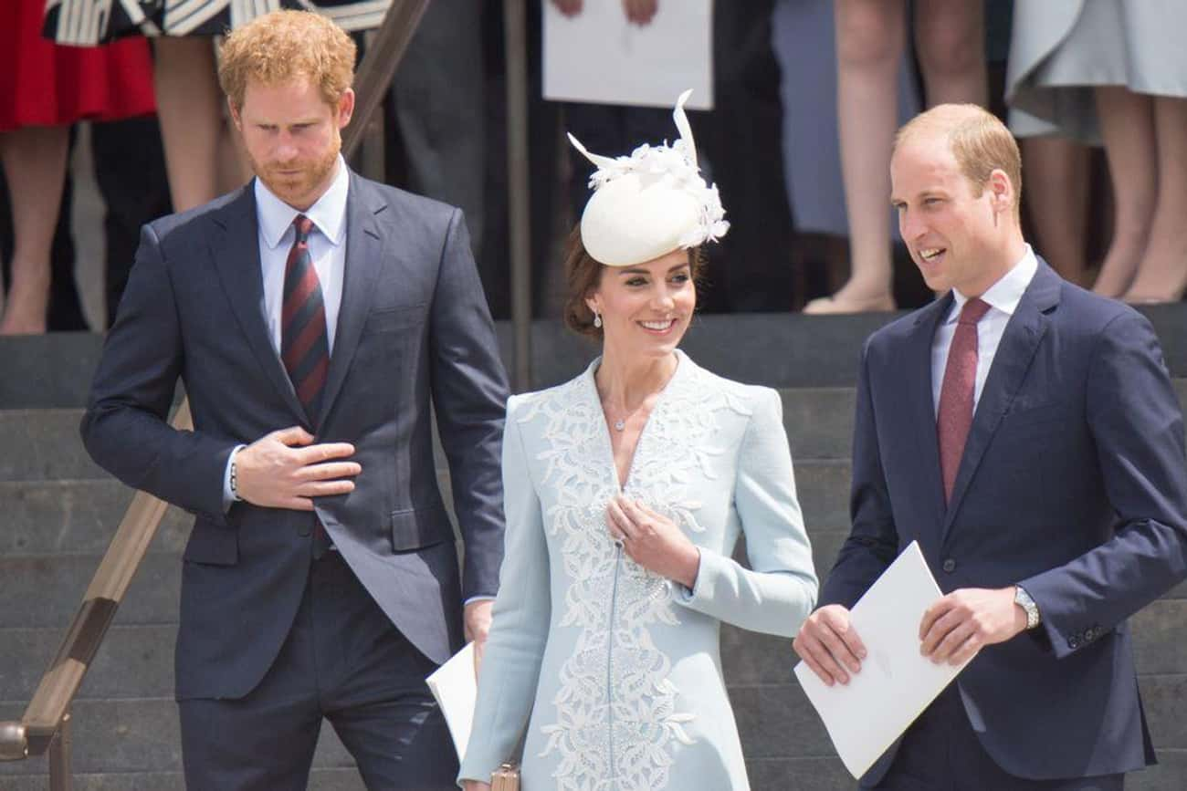 Prince William And Prince Harr is listed (or ranked) 2 on the list Celebrities Who Have Even Hotter Siblings
