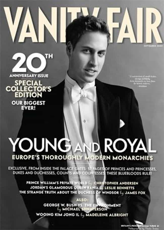Prince William, Duke of Cambri... is listed (or ranked) 8 on the list The Best Vanity Fair Covers