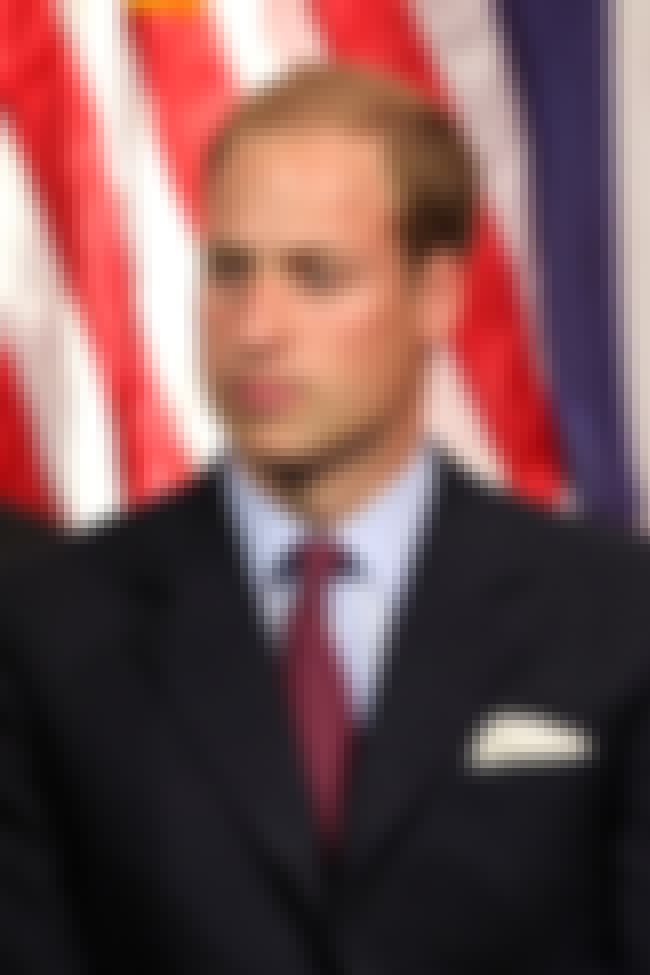 Prince William, Duke of Cambri... is listed (or ranked) 5 on the list 20 Celebrities You Didn't Know Were Color Blind