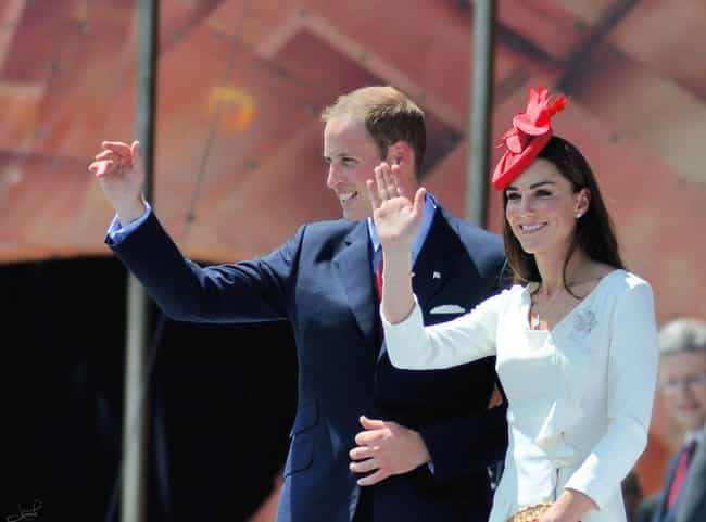 Prince William, Duke of Cambri... is listed (or ranked) 2 on the list Celebrities Who Married Their College Sweethearts
