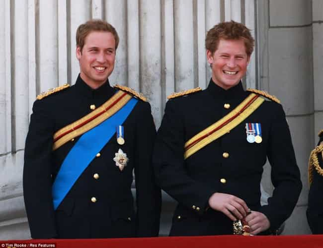 Prince William, Duke of Cambri... is listed (or ranked) 2 on the list Celebrities Who Have Even Hotter Siblings
